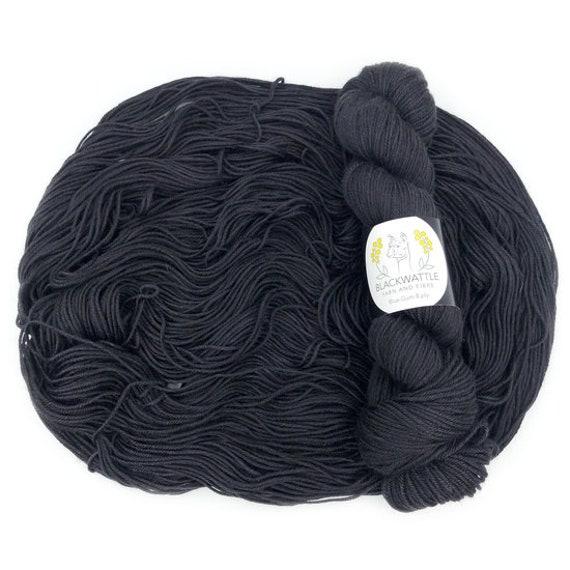 Black Wattle - Sweet Pea 4 ply - Charcoal