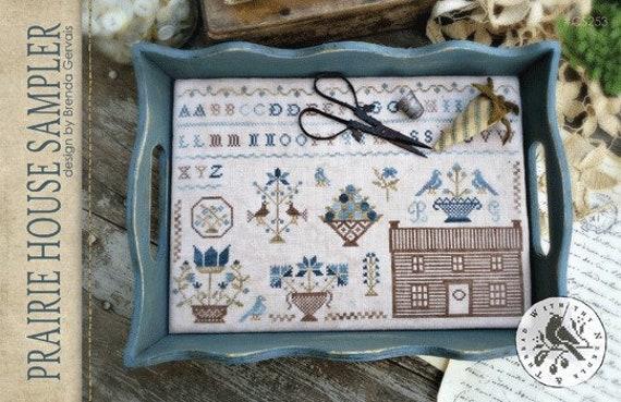 Prairie House Sampler - Brenda Gervais - Cross Stitch Chart