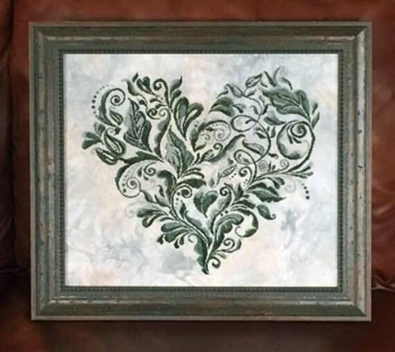 Heart Leaves - Keslyn's - Chart only