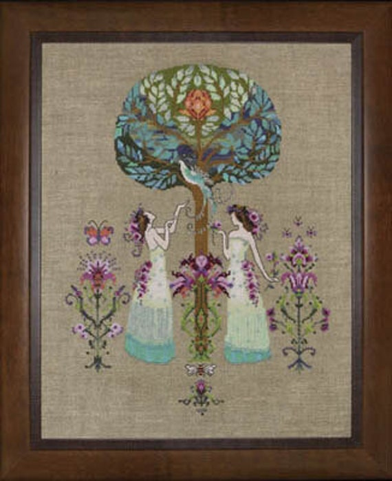 Tree of Hope - Mirabilia - Cross Stitch Chart