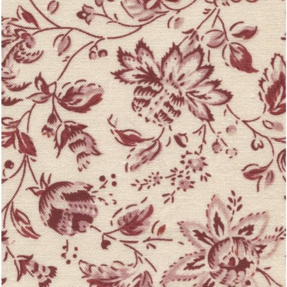 Dutch Heritage - China Red 2040 - 1/2yd