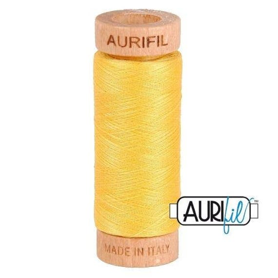 Aurifil 80wt -  Pale Yellow 1135