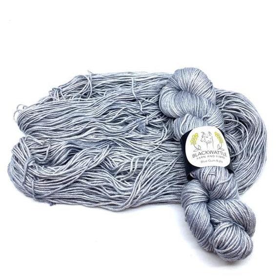 Black Wattle - Sweet Pea 4 ply - Dove Grey