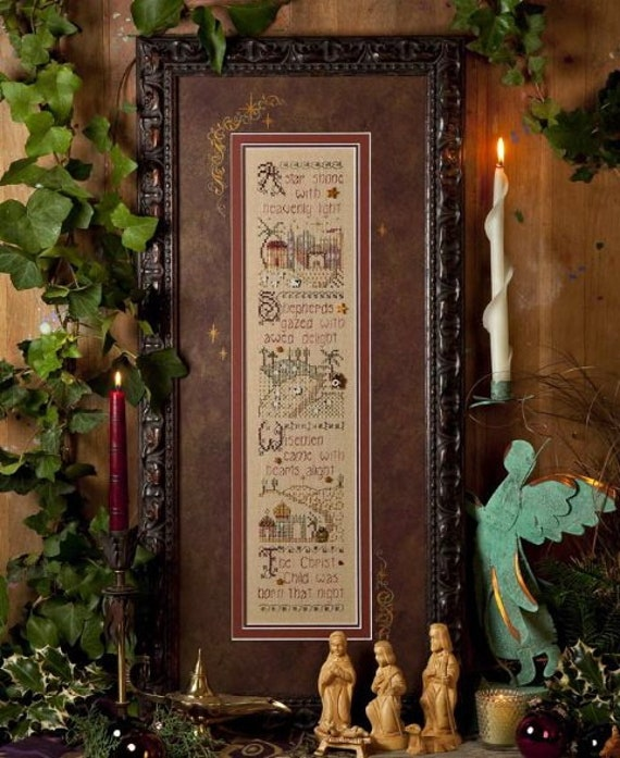 Holy Night - Shepherd's Bush - Cross Stitch Chart