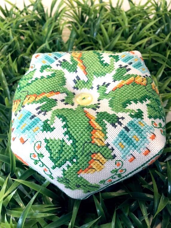 Dragon Biscornu - Tiny Modernist - Cross Stitch Chart