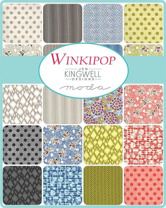 Winkipop by Jen Kingwell - 34 x Fat 8ths Bundle