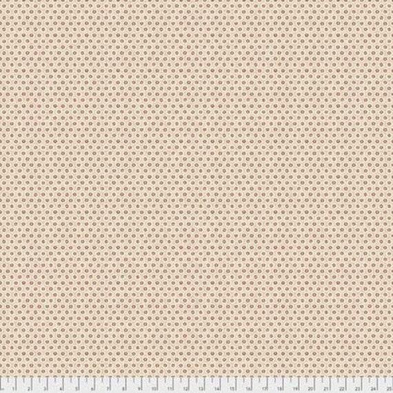 Morris & Co - Kelmscott Honeycombe Red PWWM005 - 1/2yd