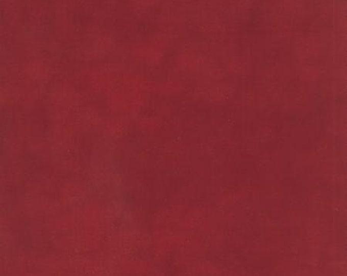 Primitive Muslin Flannel Heart Red - 1/2yd