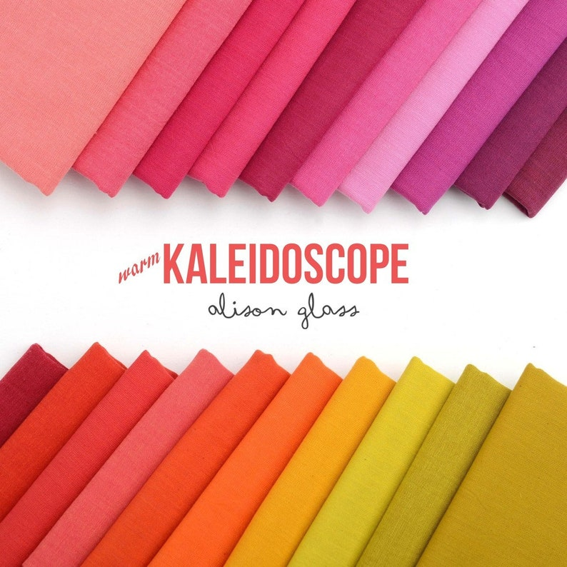 12yd Kaleidoscope Shot Cotton Mermaid Alison Glass