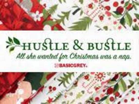 Hustle and Bustle - Basic Grey - Layer Cake