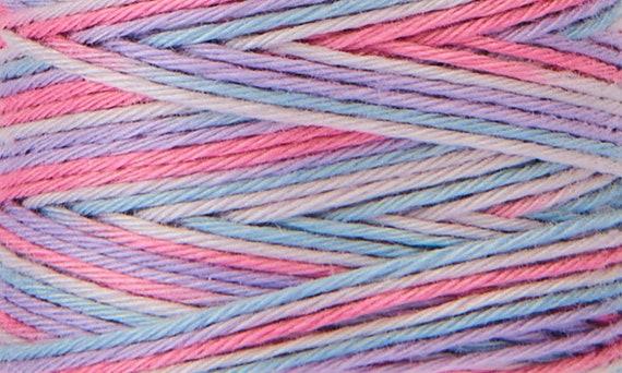 Hidamari - COSMO Sashiko Thread - 89-302 Multicolour Cotton Candy
