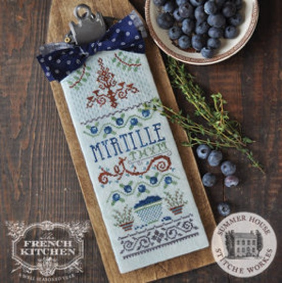 Myrtille et Thym - Hands On Design - Chart + Wool Patch
