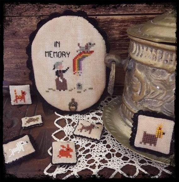 Rainbow Bridge - Fairy Wool in the Wood - Cross Stitch Chart