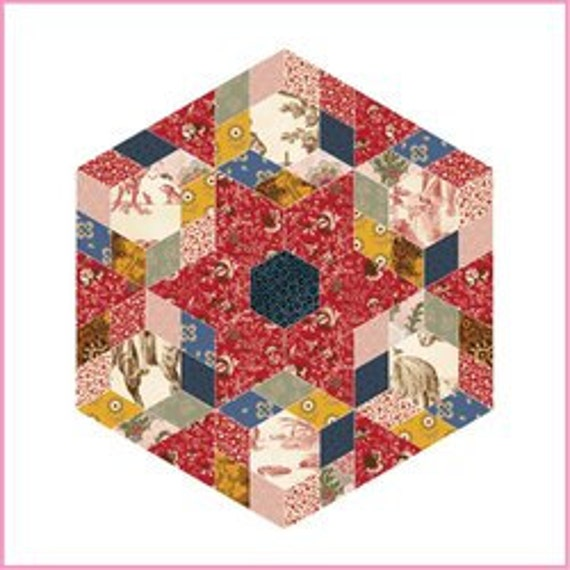 English Paper Piecing Pack No. 4