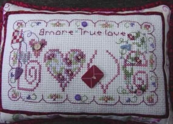 Love - Shepherd's Bush - Cross Stitch Chart