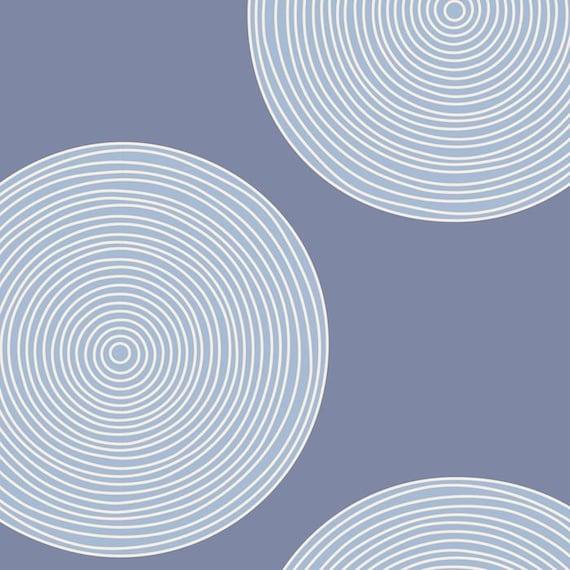 TILDA Luna Wideback 108 inches - Blue 150002 - 1/2 yd