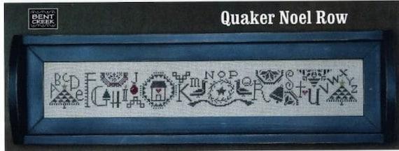 Quaker Noel Row - Bent Creek - Chart Only