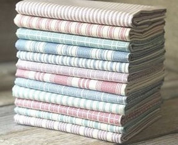 TILDA Tea Towel - 12 Fat Eighths