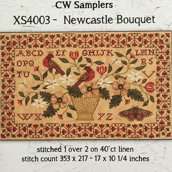 Newcastle Bouquet - Teresa Kogut - Cross Stitch Chart
