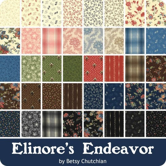 Elinore's Endeavor by Betsy Chutchian - 40 x Fat 8ths