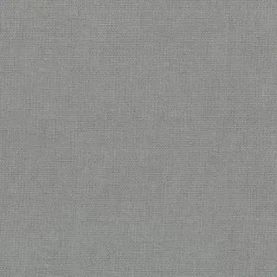 Devonstone Linen/Cotton - Smoke DV4108 - 1/2 yd x 54 inches