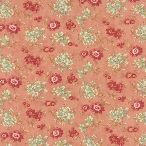 Larkspur Sweetbriar Rose Pink- 1/2yd