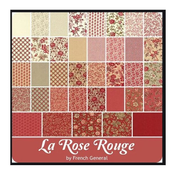 La Rose Rouge - French General - Jelly Roll