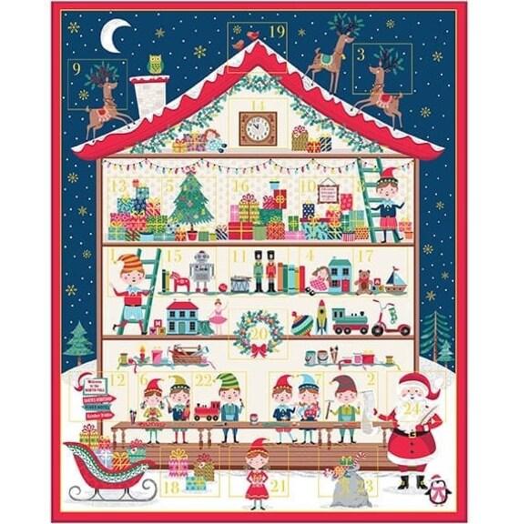 Santa's Workshop Advent Calendar 22271 - Panel