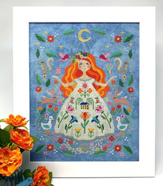 The Stitch Goddess - Tiny Modernist - Cross Stitch Chart