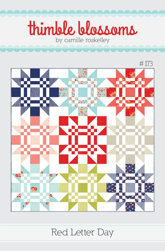Red Letter Day by Thimble Blossoms - Quilt Pattern