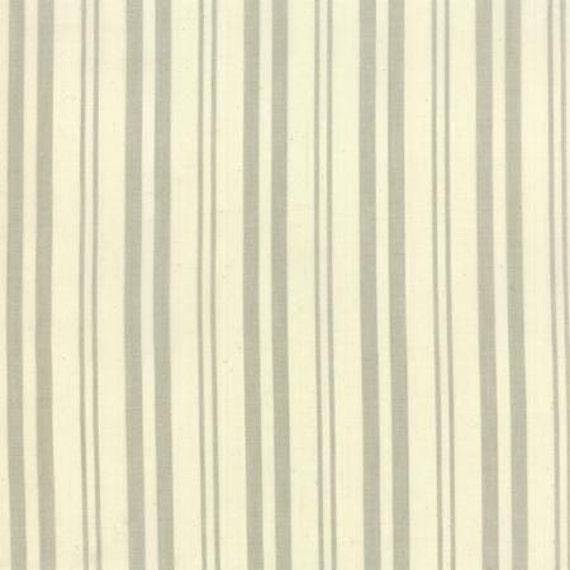 Petite Woven Silky Cotton Multi Stripe Roche - 1/2yd