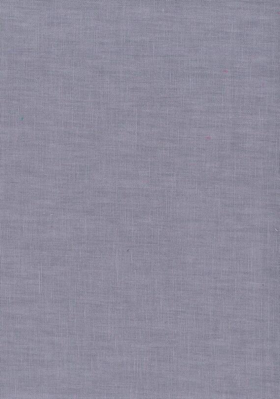 Hanky Linen - Silver Lilac Mist - 56 inch x 1/2yd