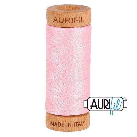 Aurifil 80wt -  Baby Pink 2423