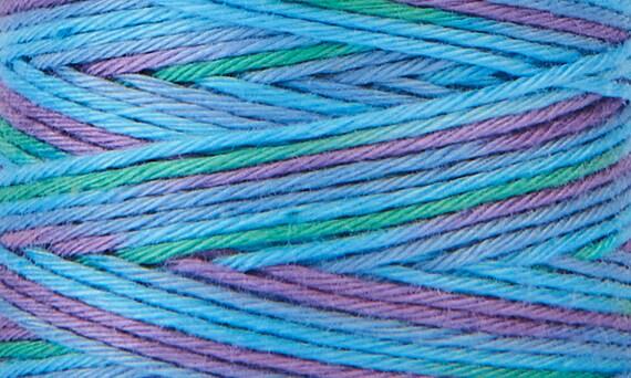 Hidamari - COSMO Sashiko Thread - 89-305 Multicolour Tie Dye