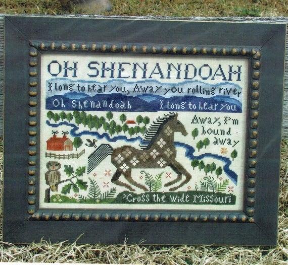 Shenandoah - Carriage House Samplings - Cross Stitch Chart
