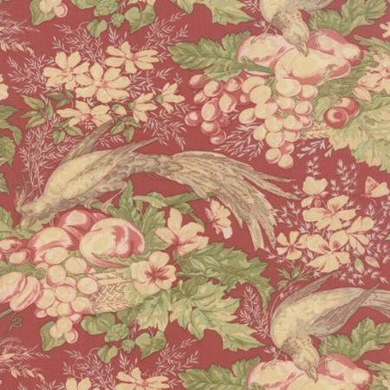 Country Orchard by Blackbird Designs - Floral Orchard Ripe - 1/2yd