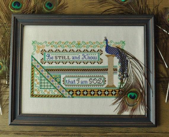 The Persian Bird - Summer House Stitch Workes - Cross Stitch Chart