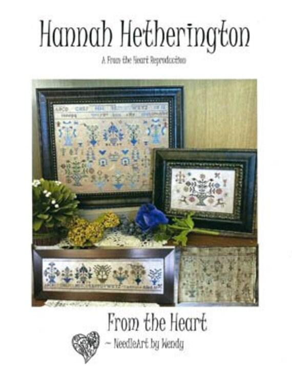 Hannah Hetherington - From the Heart - Cross stitch chart