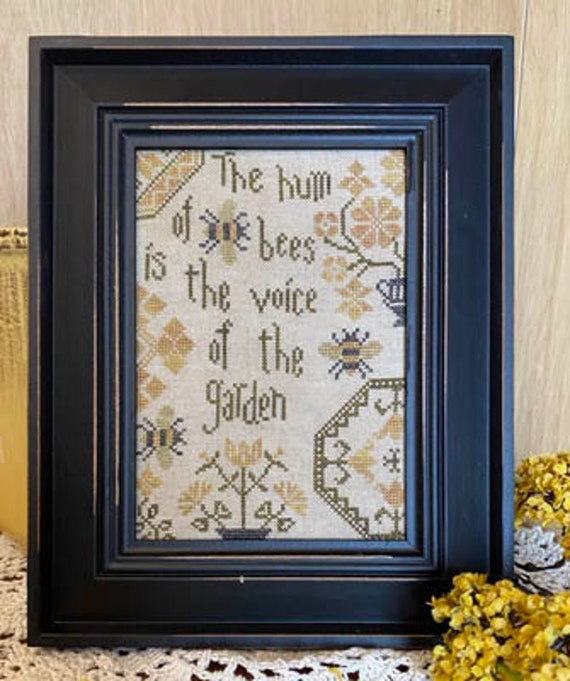 Quaker Bees - From the Heart - Cross Stitch Chart