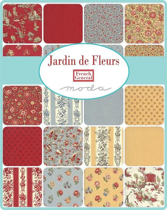 Jardin de FLeurs - French General - Jelly Roll
