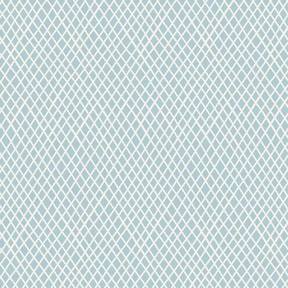 TILDA Classic Basics - Crisscross Lt Blue 130041