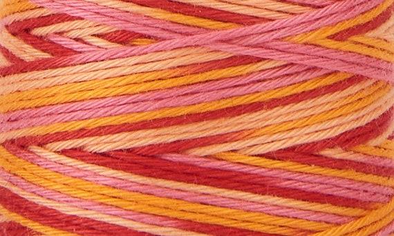 Hidamari - COSMO Sashiko Thread - 89-301 Multicolour Tequila Sunrise