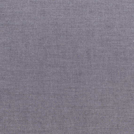 TILDA Chambray - Grey 160006 - Fat Quarter