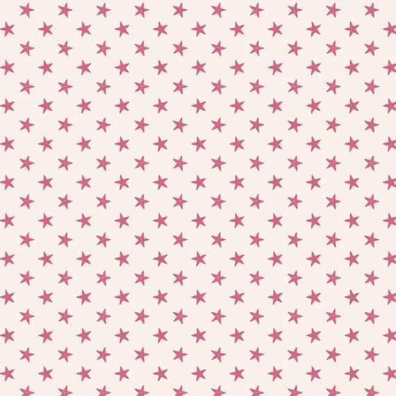TILDA Classic Basics - Tiny Star Pink 130037