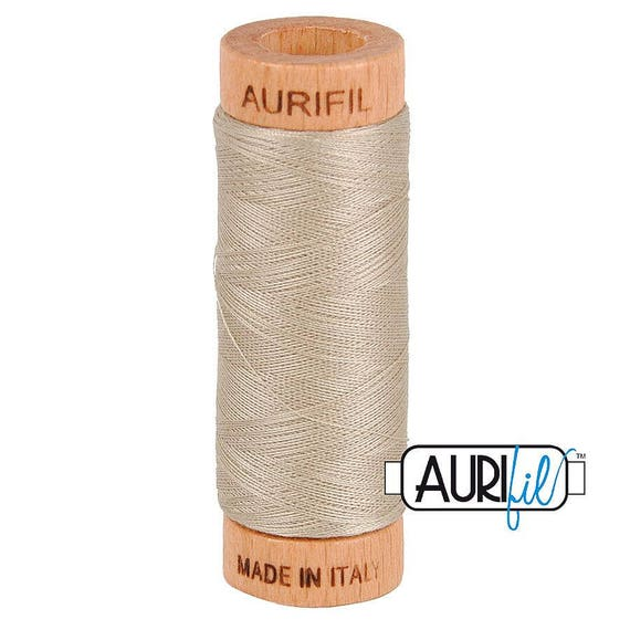 Aurifil 80wt -  Rope Beige 5011