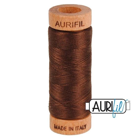 Aurifil 80wt -  Chocolate 2360