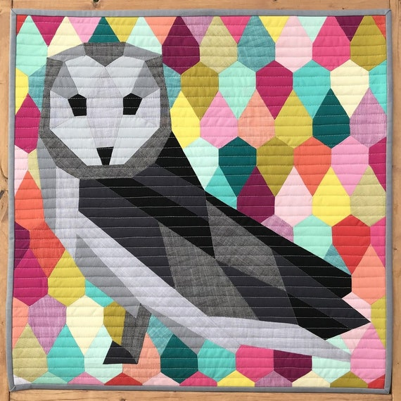 The Barn Owl Pattern by Violet Craft
