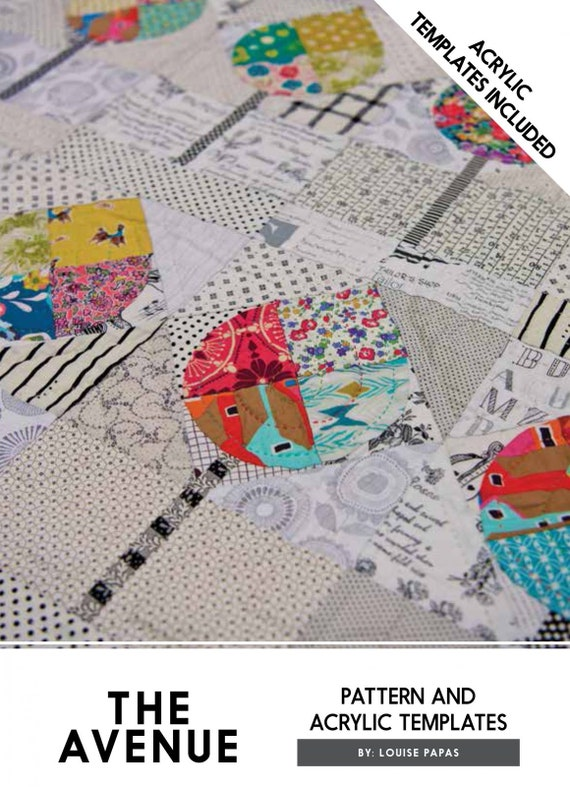 The Avenue Quilt Pattern by Louise Papas - Pattern only