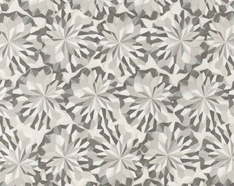 Black and White Shadow Crystal - 1/2yd