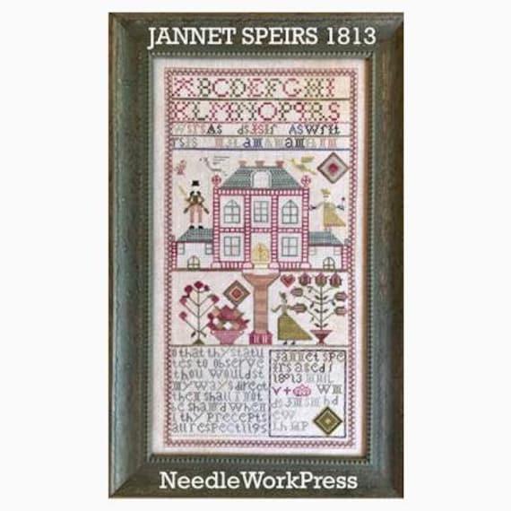 Jannet Speirs 1813 - Needle WorkPress - Cross Stitch Chart